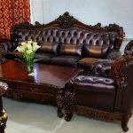 Kursi Tamu Sofa Romawi 3211 Meja Dan 2 Meja Kecil