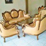 Meja Kursi Sofa Ruang Tamu Minimalis
