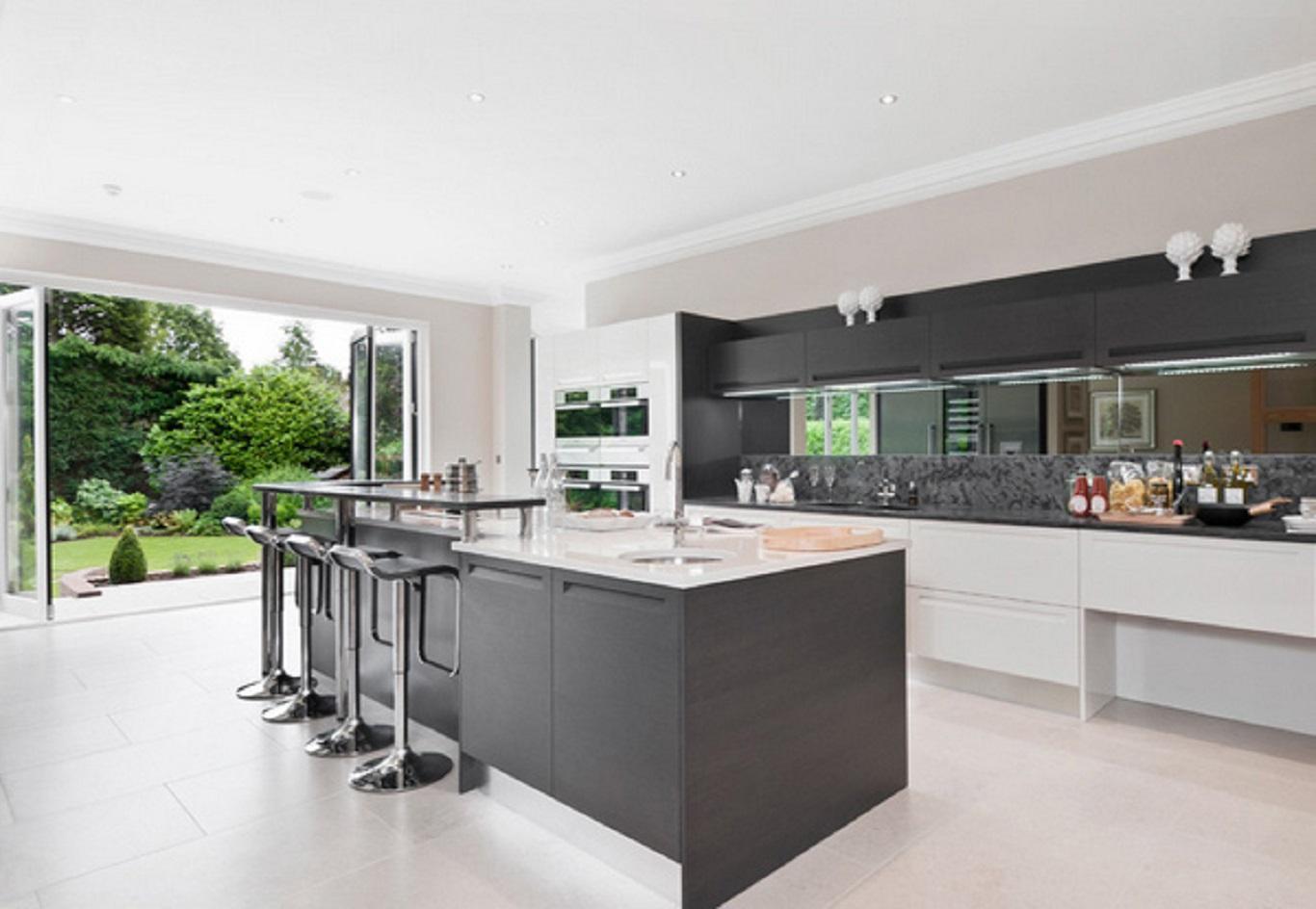 Desain Dapur Terbuka Minimalis Sederhana