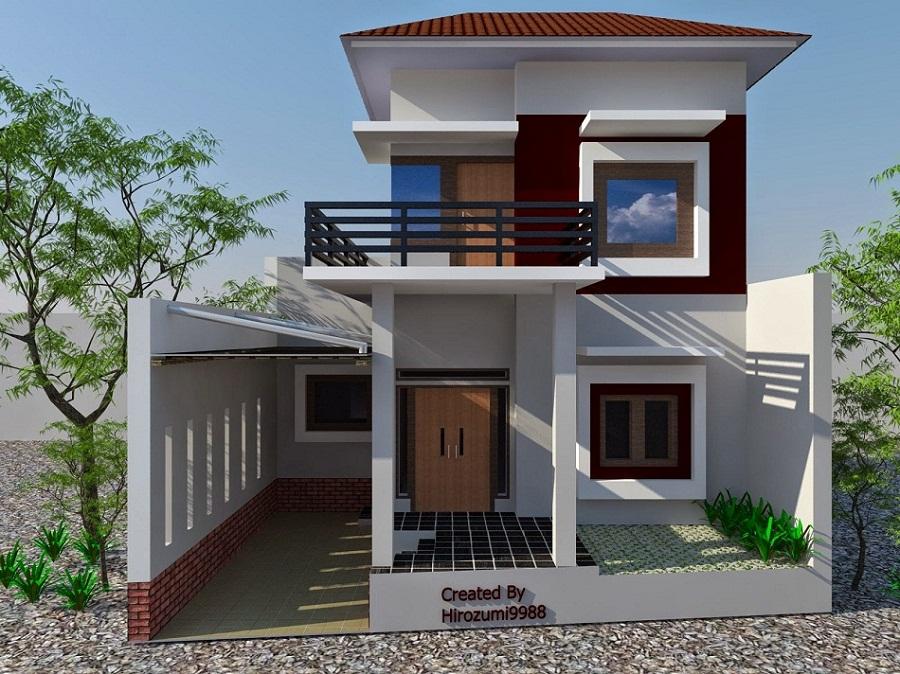 100 Model Rumah Minimalis 2 Lantai Modern Inspiratif
