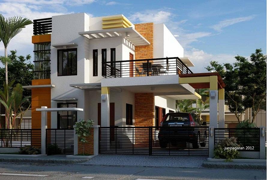 Model Rumah Minimalis 2 Lantai Sederhana dan Modern