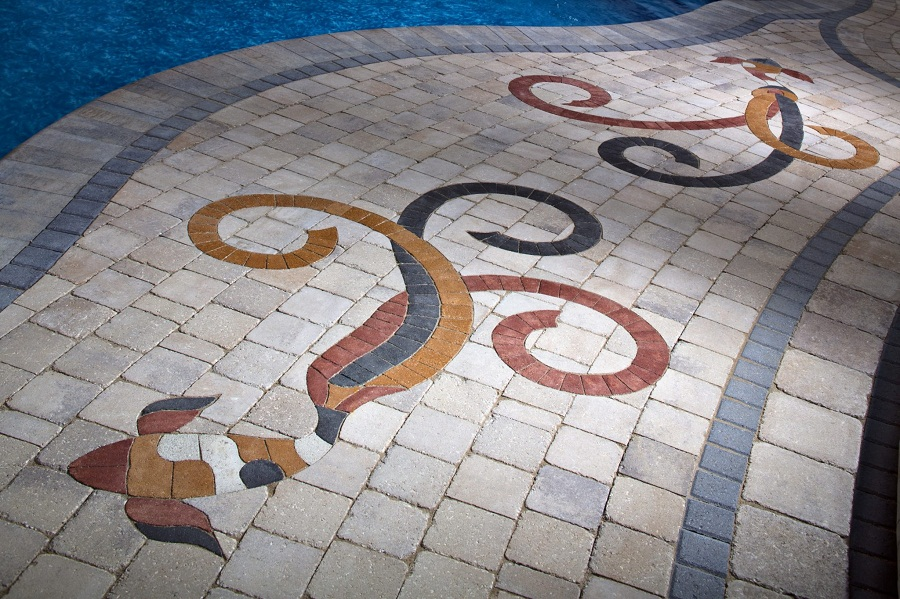 Paving Block Mosaic