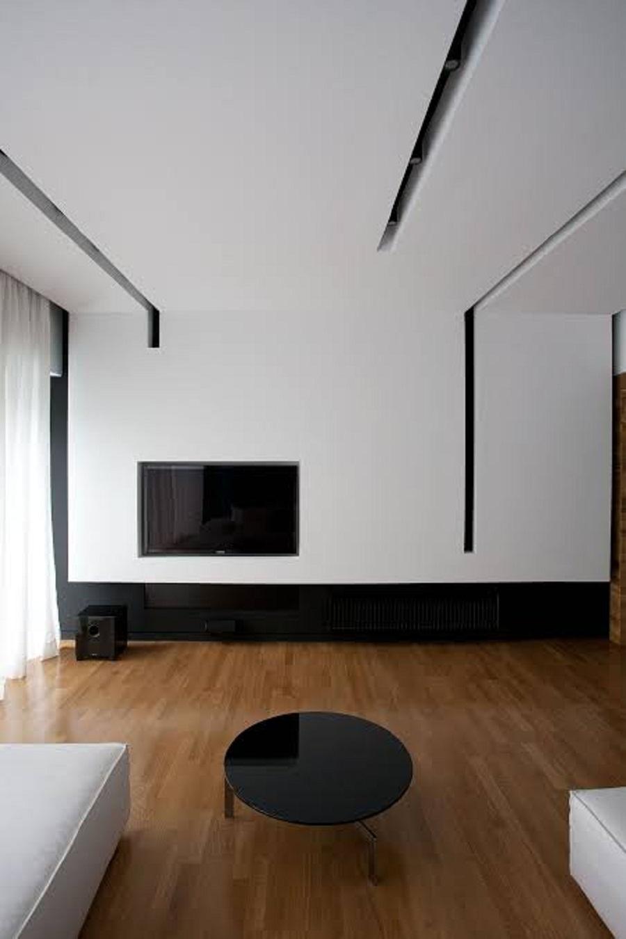 Plafon Minimalis Warna Putih