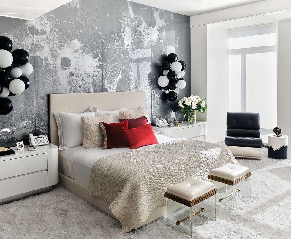 √ 45 Motif Wallpaper Dinding Kamar Tidur Minimalis & Harga