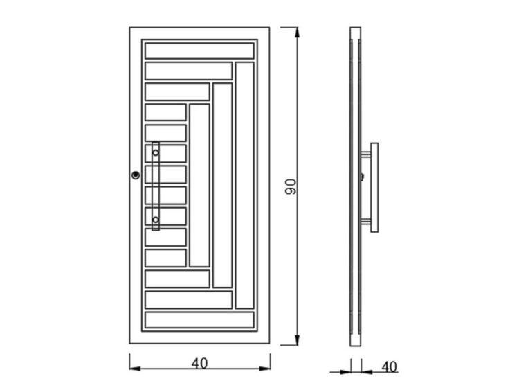 Ukuran Kusen Pintu Kamar Mandi